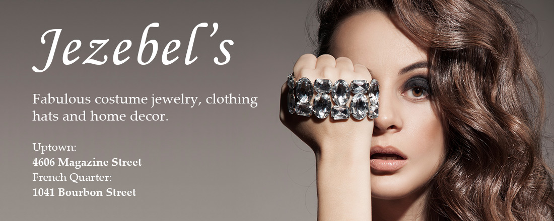 Jezebel's - Fabulous costume jewelry, clothing, hats and home decor.